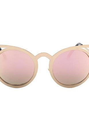 Классные зеркальные очки кошечки