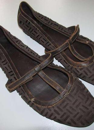 Туфли кожаные timberland, 26,5 см. как новые!