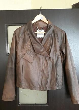 Куртка из америки 100% кожа