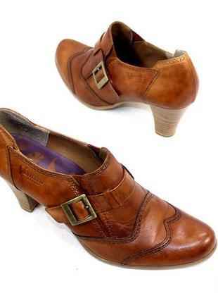 Туфли 39 р venturini италия натуральная кожа оригинал