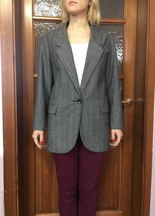 Жакет oversize піджак пиджак mango