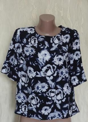 Натуральная блуза из вискозы new look, р.14