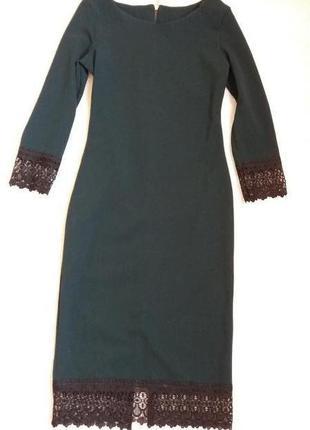 Очень красивое,женственное платье красивого зеленого цвета👗