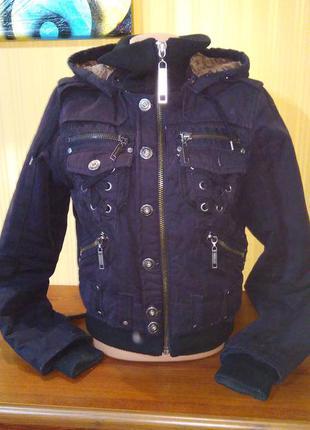 Куртка черная косуха