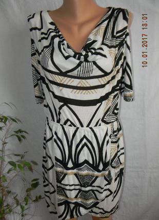 Платье с принтом вискоза next