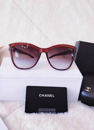Chanel очки солнцезащитные