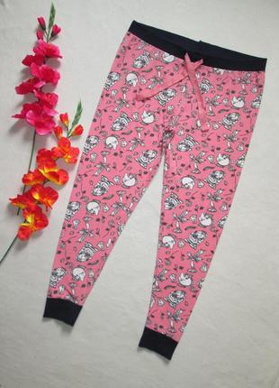 Трикотажные домашние пижамные брюки в мультяшный принт disney love to lounge