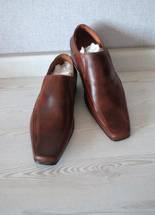 Туфли мужские кожа fort