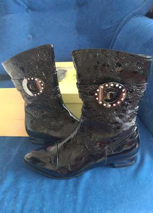 Ботиночки еllenka натуральная кожа 39 размер