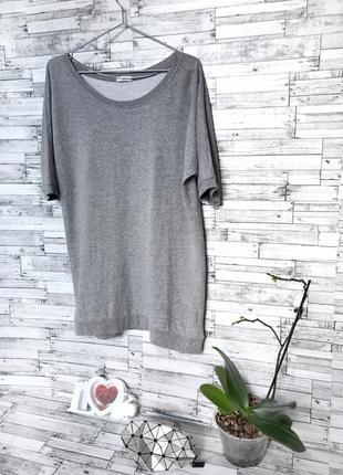 Кежуальная длинная свободная футболка от only супер фасон и качество