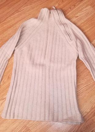 Cashmere кашемировый свитер в рубчик италия
