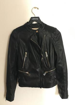 Супер куртка косуха экокожа