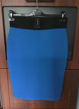 Стильная юбка-карандаш размер -14,наш - 48
