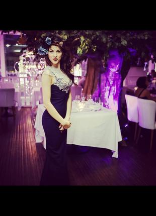 Элегантное вечернее/выпускное платье