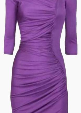 Дизайнерское шелковое коктейльное платье от catherine malandrino!