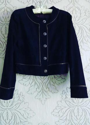 Куртка-косуха натуральный замш
