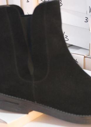 Удобные ботики, замша натуральная, с 36-41р.6 фото