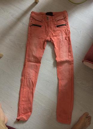 Crafted яркие джинсы