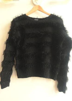 Стильный свитерок/джемпер пушистик