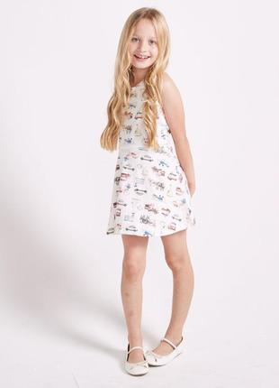 Новое платье белое с принтом, sugar squad, 170085