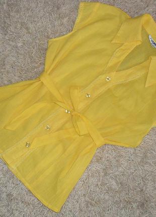 Рубашка, блуза с поясом