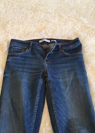 Zara джинсы классика синие