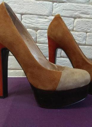 Шикарні стильні туфлі