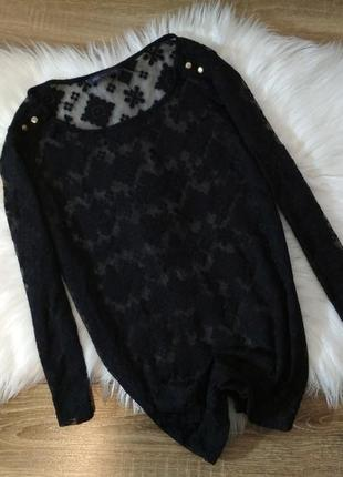 Кружевная блуза marks&spencer