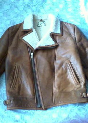 английская кожаная куртка купить