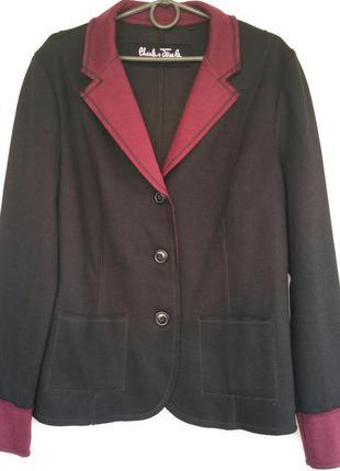 Женский трикотажный пиджак charles voegele