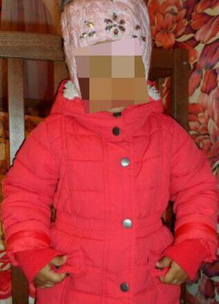 Демисезонная куртка для девочки на весну,92-98,парка на весну