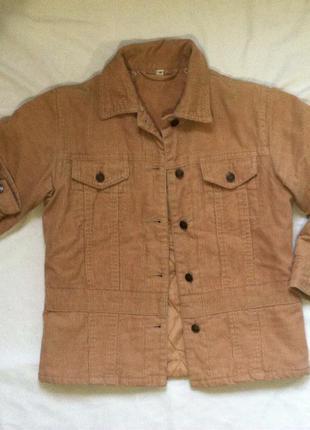 Куртка демисезон вельветовая