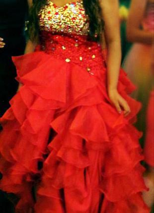 Шикарное выпускное платье jovani