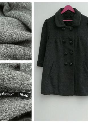 🌿сказочно-красивое пальто большой размер🌿