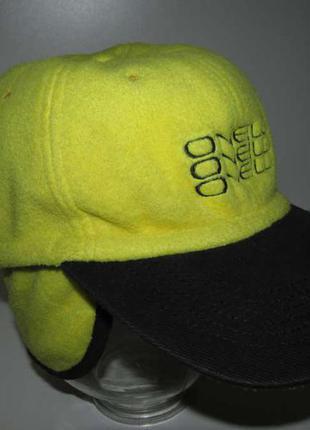 Кепка o'neill, утепленная, с ушами, флис, 58-60р. как новая!