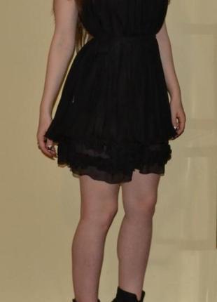Вечерние маленькое черное платье коктейльное