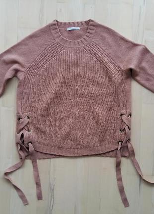 Теплый свитер с люрексом от george