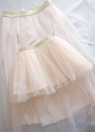 Фатиновая юбка женская миди ( нарядная)