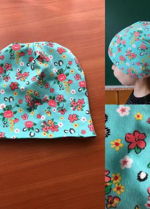 Детская шапочка универсальный размер