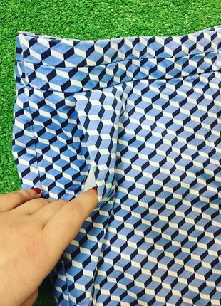 Укорочённые стильные брюки #558