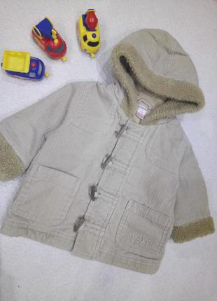 Пальто куртка демисезонная унисекс 3-6 месяцев next
