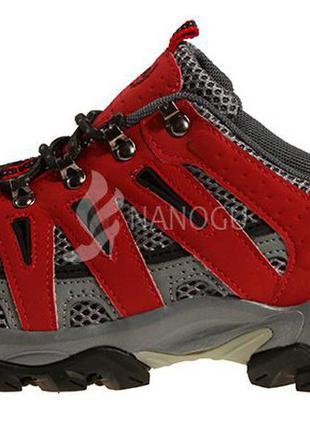 Кроссовки женские треккинговые дышащие 4rest usa черные с красным