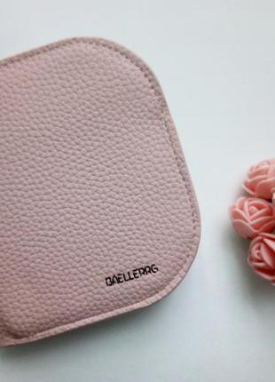 Кошелек экокожа компактный/пудрово розовый