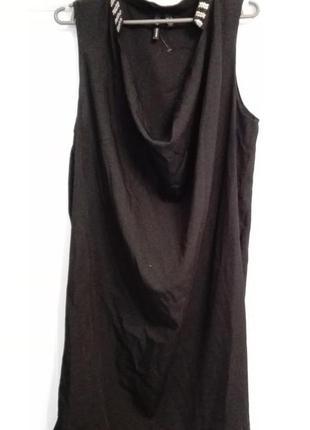 Платье с бисером от mango