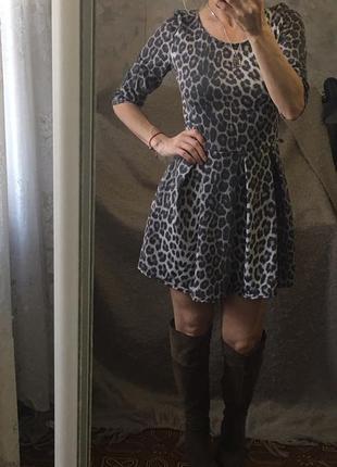 Платье демисезон  широкая юбка boohoo