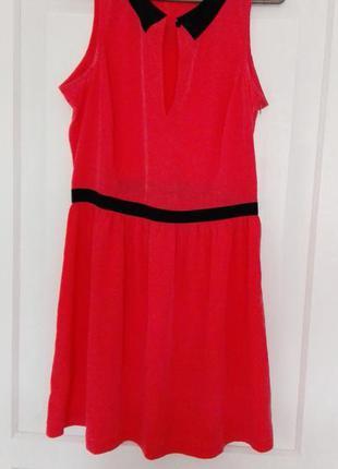 Платье с воротничком от mango