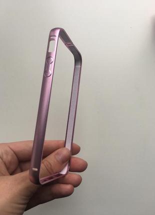 Алюминиевый бампер для iphone 5/5s