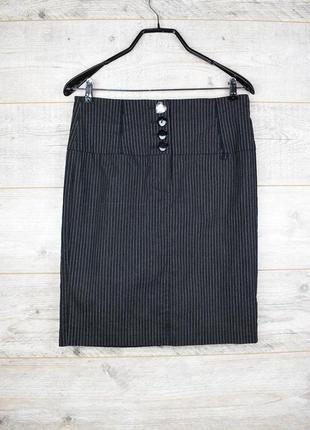 Очень красивая классическая юбка в полоску от bay