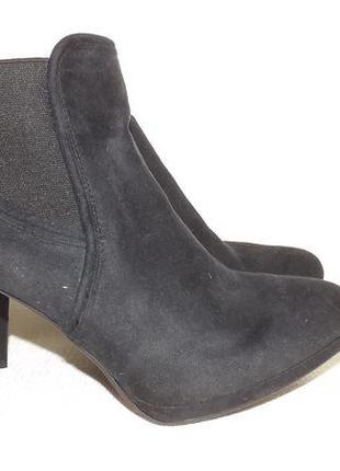 Ботильоны ботинки каблук esmara 25 см стелька