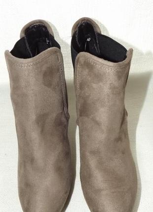 Ботильоны ботинки каблук esmara 39,40 размер